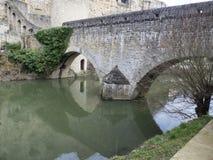 Stare ćwiartki i fortyfikacje w Luksemburg Obraz Royalty Free