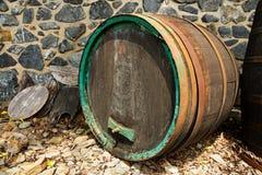 stare wino barrel Obrazy Stock