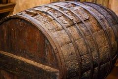 stare wino barrel Zdjęcia Royalty Free
