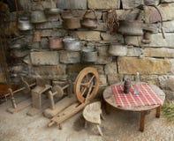 Starego światu ludowy teren od Bułgaria Obraz Royalty Free