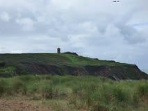 Starego chapple zieleni wzgórza Obraz Stock