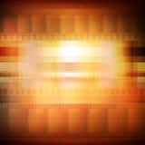 Starego filmu tła sepiowy tonowanie ilustracja wektor