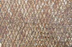 Starego grunge reliefowego metalu podłogowy bezszwowy stalowy prześcieradło kruszcowy Zdjęcie Stock