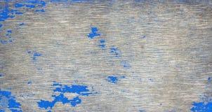 Starego grunge tekstury nieociosany drewniany tło z błękitnym kolorem pękającym wietrzał farbę zdjęcie royalty free