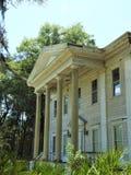 Starego historycznego zaniechanego plantacja stylu po?udniowy dom w Brooksville FL fotografia royalty free