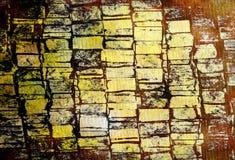 Starego koloru grunge abstrakcjonistyczny tło z teksturą Zdjęcie Royalty Free