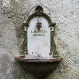 Starego metalu plenerowy basen Zdjęcie Royalty Free