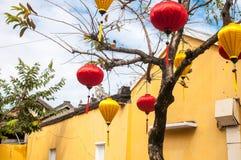 starego miasta Hoi, Środkowy Wietnam Zdjęcia Stock