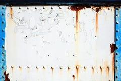 Starego obsady żelaza ośniedziały tło Fotografia Royalty Free