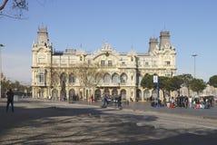 Starego portu budynek. Barcelona. Hiszpania Zdjęcia Stock
