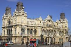 Starego portu budynek. Barcelona. Hiszpania Zdjęcie Royalty Free