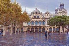 Starego portu budynek, Barcelona, Hiszpania Zdjęcie Stock