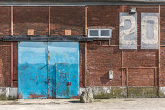 Starego portu hangar Obrazy Stock