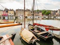 starego portu 05 honfleur France Normandy Zdjęcie Royalty Free