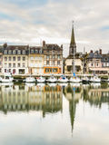 starego portu 05 honfleur France Normandy Obrazy Royalty Free