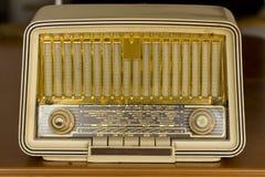 starego radia prawdziwy rocznik Obraz Stock