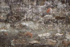Starego rocznika brudny ściana z cegieł Obrazy Stock