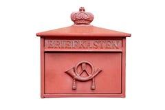 Starego rocznika poczta niemiecki pudełko Zdjęcie Stock