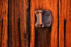 Starego rocznika stajni drzwi tekstury drewniany tło Obraz Stock