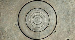 Starego round lath wzoru tekstury drewniany tło obrazy royalty free
