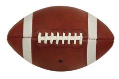 Starego Rzemiennego futbolu amerykańskiego Gemowa piłka Odizolowywająca Obrazy Royalty Free
