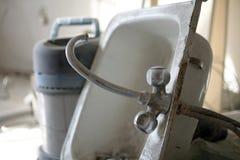 Starego sinkwith próżniowy czysty zdjęcie royalty free