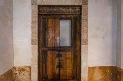 Starego stylu Arabski drzwiowy cyzelowanie E zdjęcie stock