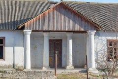 Starego stylu domu wejście Zdjęcia Stock