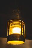 Starego stylu podsufitowa świeczka zdjęcie royalty free