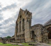 Starego transeptu ruin Kilwinning Antyczny opactwo Szkocja Zdjęcia Stock