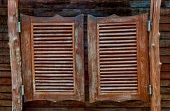 Starego Zachodniego kołyszącego baru drewniani drzwi Obrazy Royalty Free