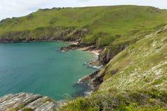 Starehole bay near Salcombe Devon England uk Royalty Free Stock Photos