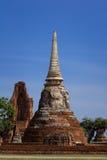 Starej świątyni Wata Ma brzęczenia Który w Ayutthaya, Tajlandia Zdjęcie Royalty Free