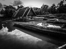 Starej świątyni wolności relition Chang mai Thailand fotografia royalty free