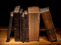 starej 3 książki Fotografia Stock