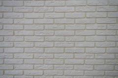 Starej biel ściany tekstury ceglany tło zdjęcie royalty free