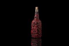Starej mistyczki Halloweenowej fantazi magiczna butelka obrazy royalty free