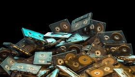 Starej mody audio kaseta Royalty Ilustracja