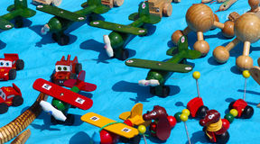 Starej mody meksykanina kolorowe zabawki Obrazy Royalty Free