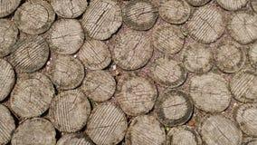 Starej mozaiki drewniany tło lub tekstura fotografia stock
