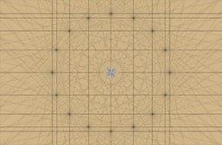 Starej Nautycznej mapy tła Portolan Wektorowa mapa z Rhumbline siecią Wykłada siatkę Obraz Royalty Free