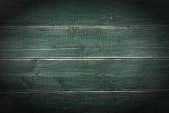 Starej rocznik deski tła drewnianej powierzchni ciemna winieta horyzontalna Zdjęcie Royalty Free