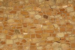 starej skały do ściany Obraz Royalty Free
