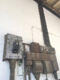 Starej szkoły elektryczność Obrazy Stock