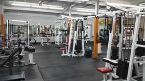 Starej szkoły gym Zdjęcia Royalty Free