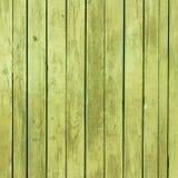 Starej zielonej farby drewniana tekstura z naturalnymi wzorami Obrazy Stock