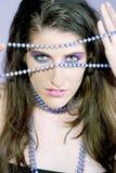 Starende blik door Royalty-vrije Stock Foto