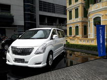 Starex grand VIP de Hyundai Images libres de droits