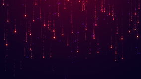 Starfall animował tło Zapętlająca animacja UHD 2160p 4K 3840x2160 postanowienie zbiory