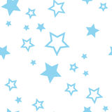 Starfall luminoso Fotografia Stock Libera da Diritti
